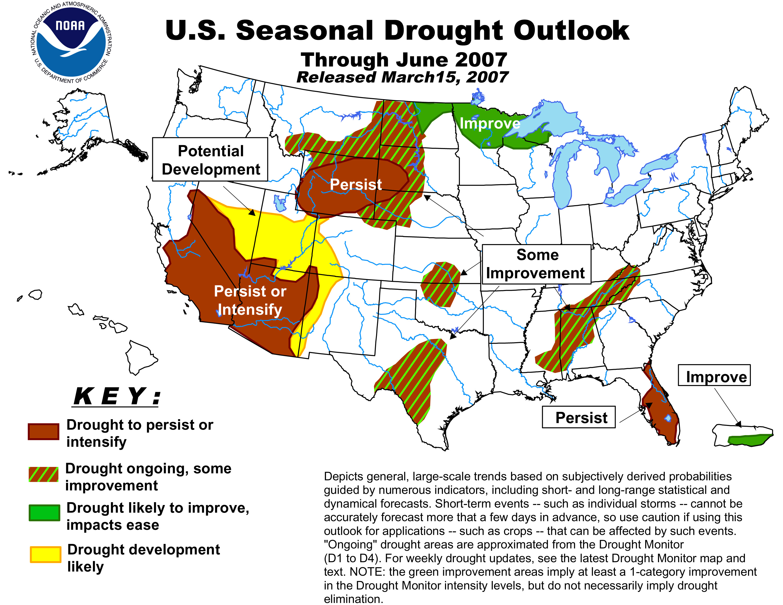 Download High Resolution Map 2mb Precipitation Spring 2007