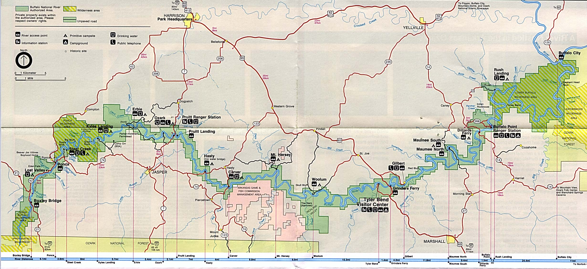 Free Download Arkansas National Park Maps - Arkansas on a us map