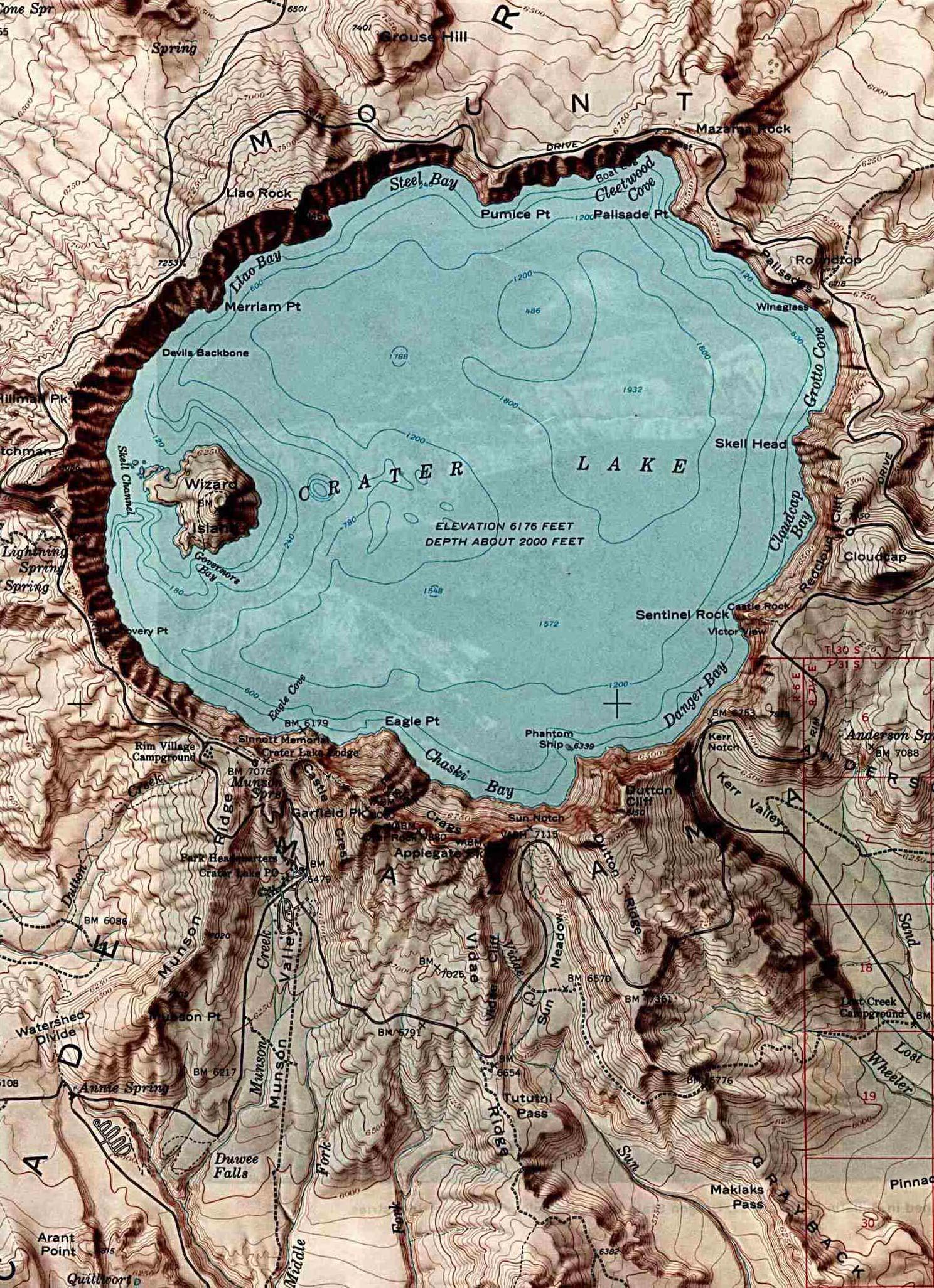 Free Oregon Map.Free Download Oregon National Park Maps