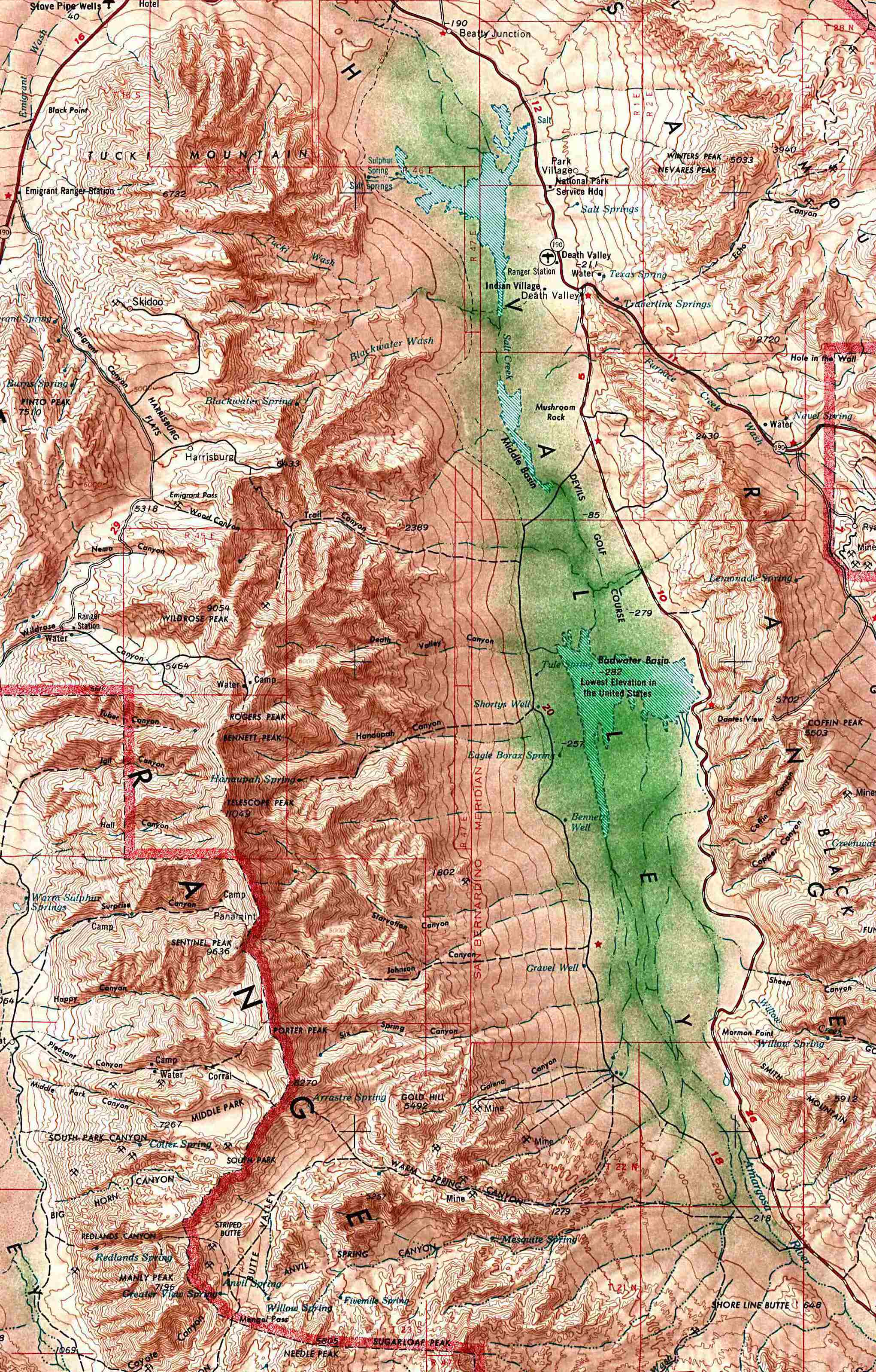 Free Download California National Park Maps