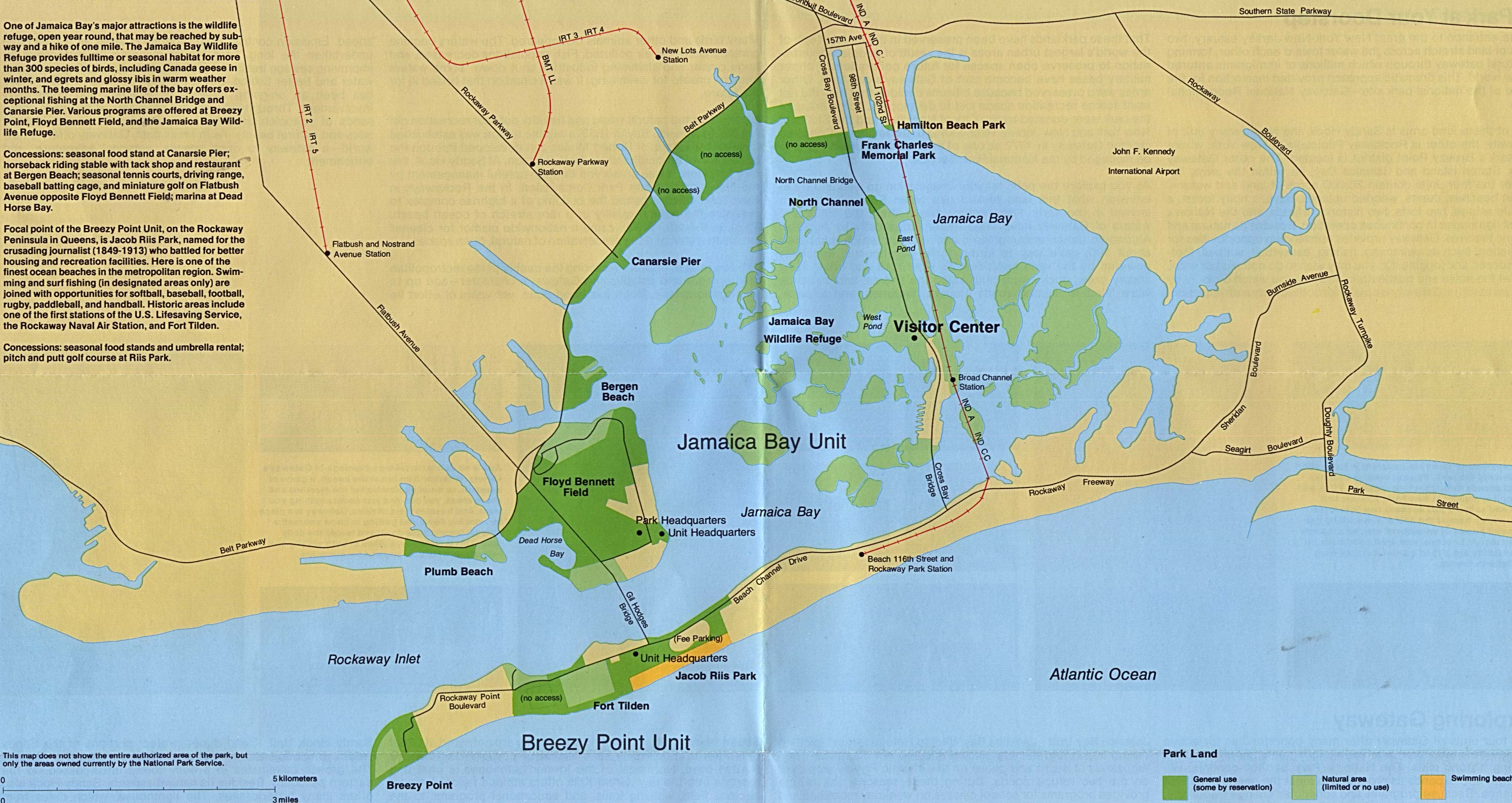 Free Download New Jersey National Park Maps