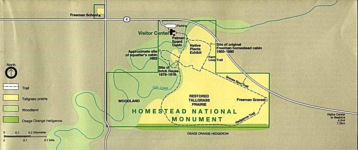 Free Nebraska Map.Free Download Nebraska National Park Maps
