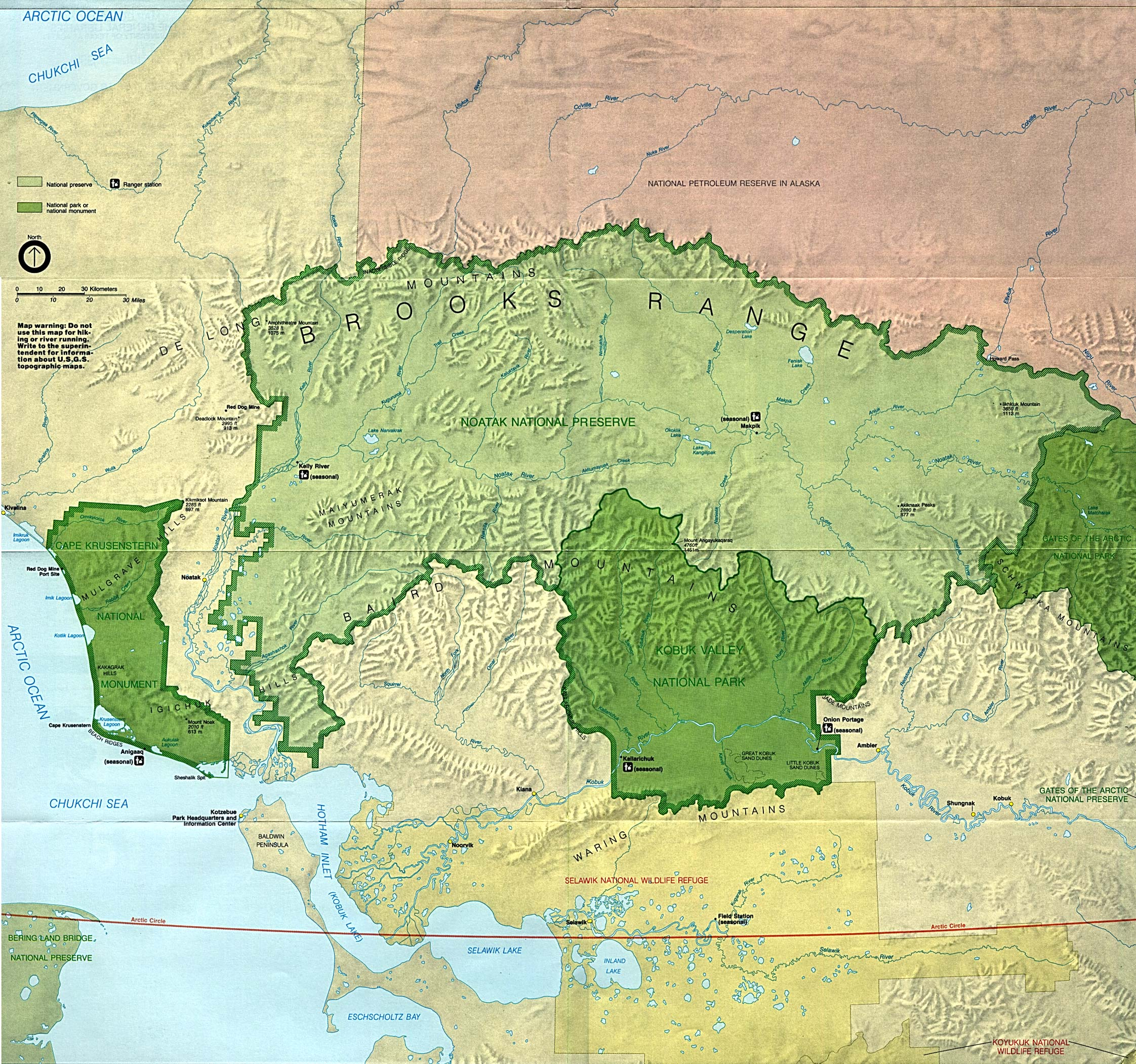 Free Download Alaska National Park Maps