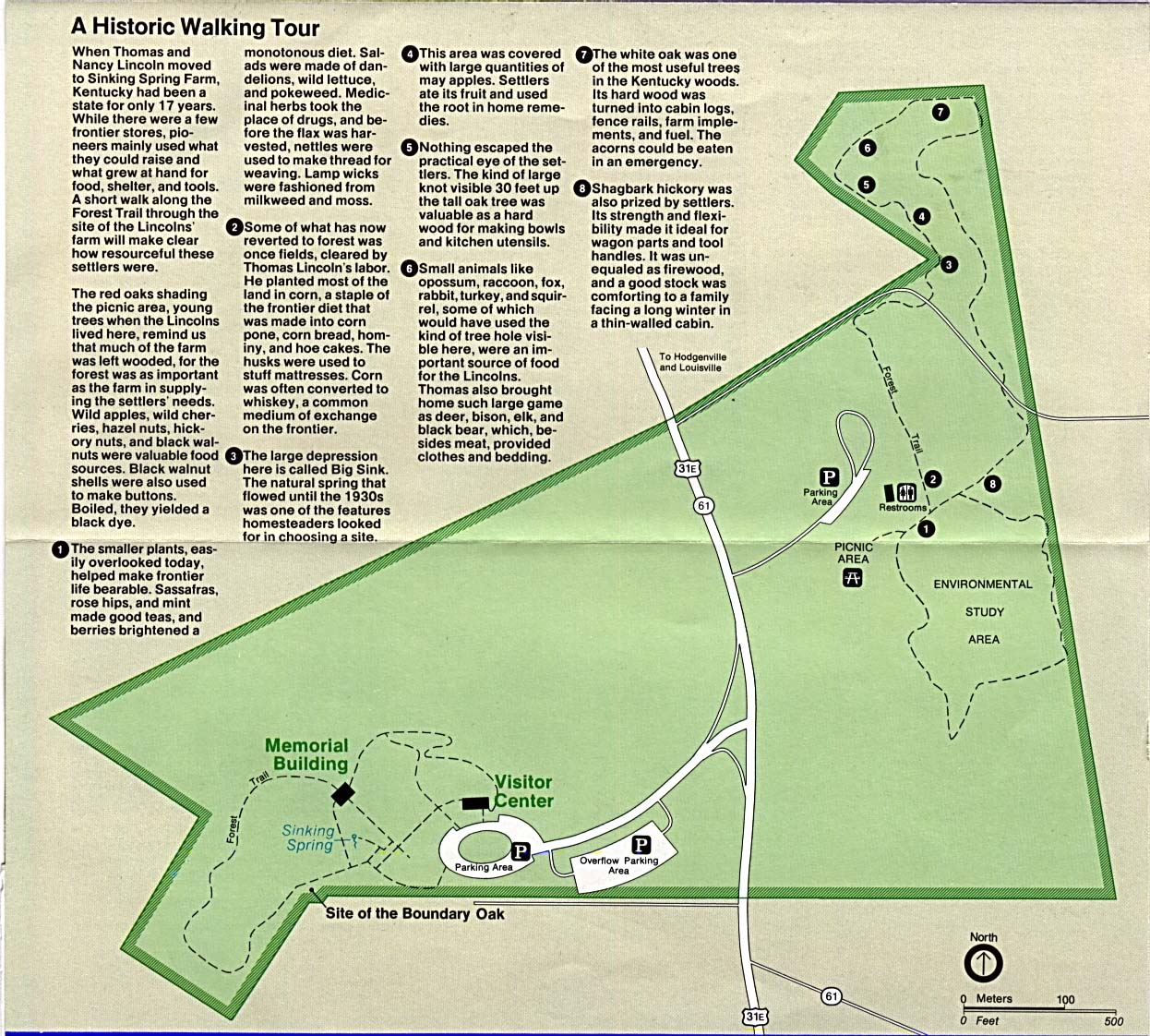Free Download Kentucky National Park Maps