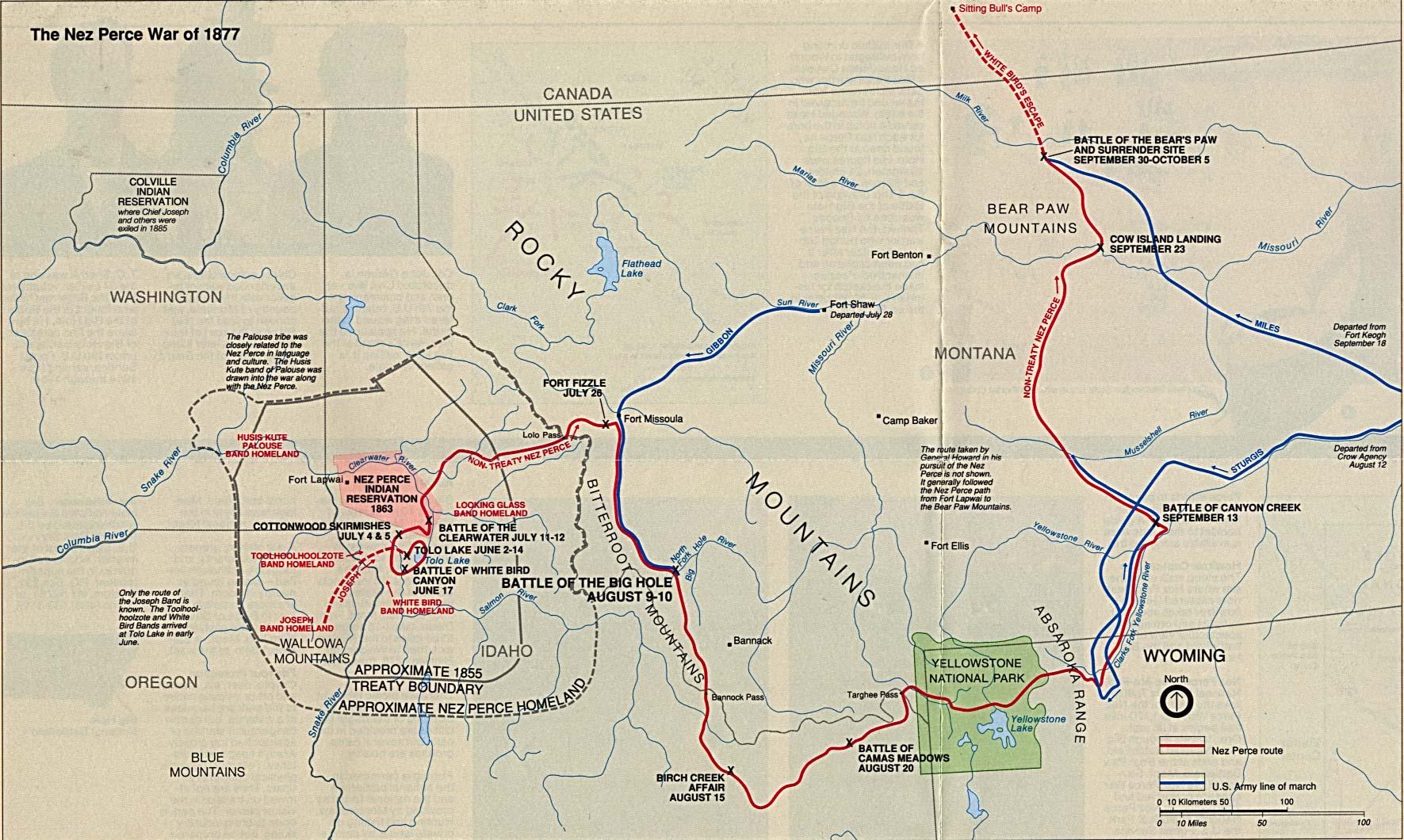 Free Download Montana National Park Maps