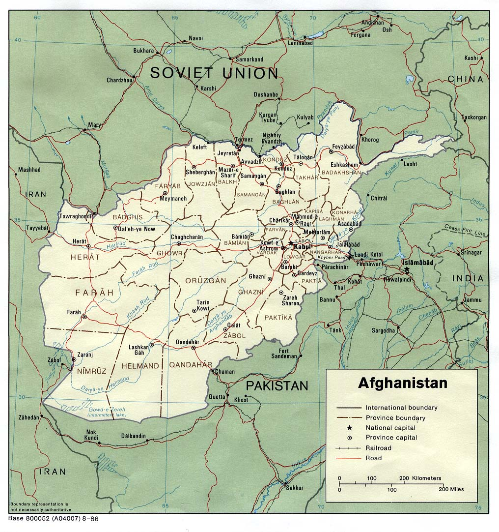 Download Free Afghanistan Maps
