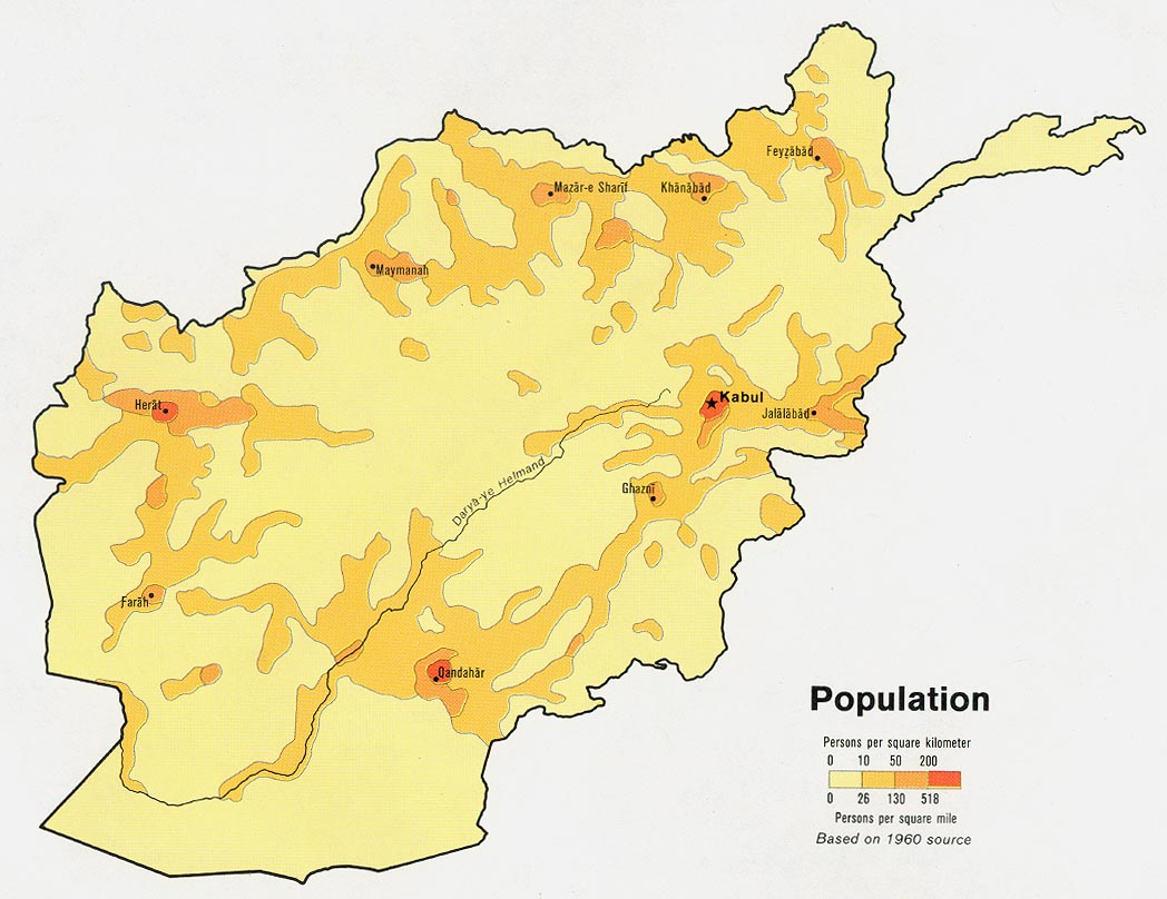 Download free afghanistan maps afghanistan population from map gumiabroncs Gallery