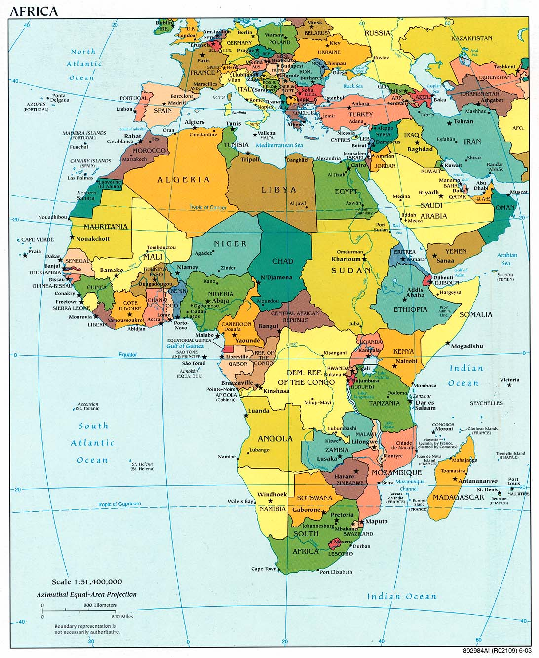 Download Free Africa Maps