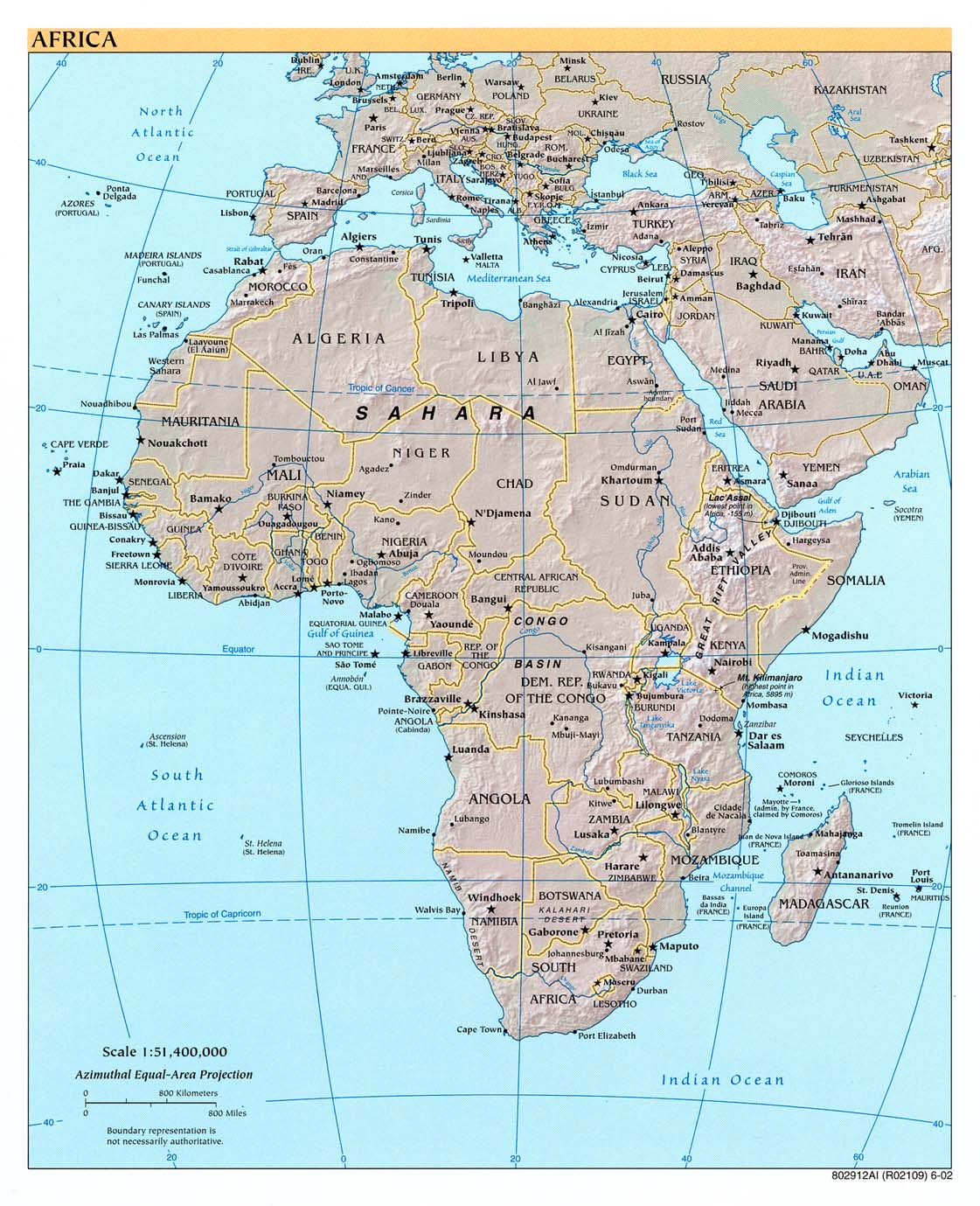 west africa map download
