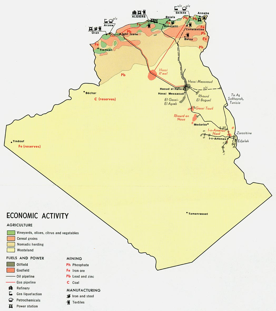 Free Download Algeria Maps - Algeria map