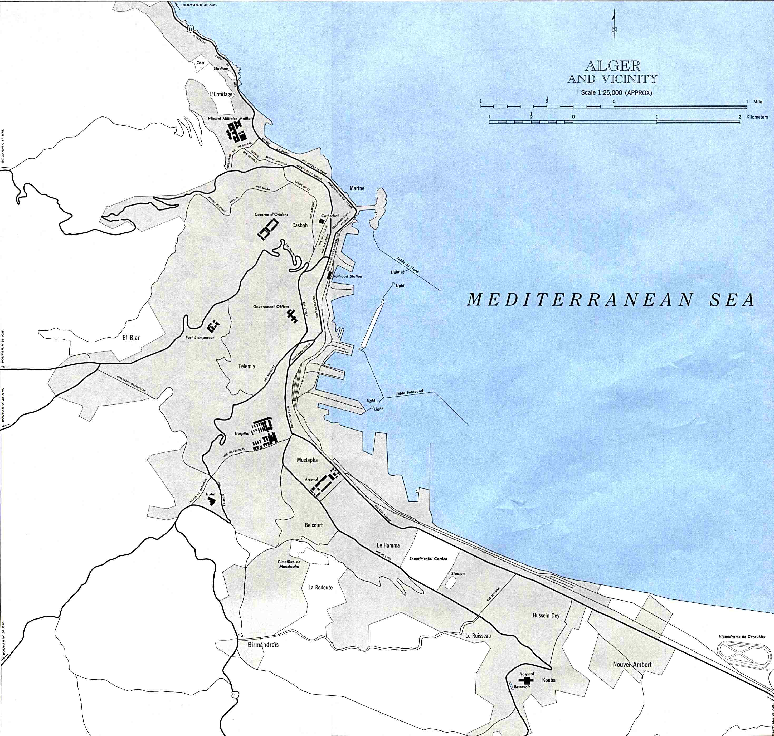 Carte Alger Dwg.Free Download Algeria Maps
