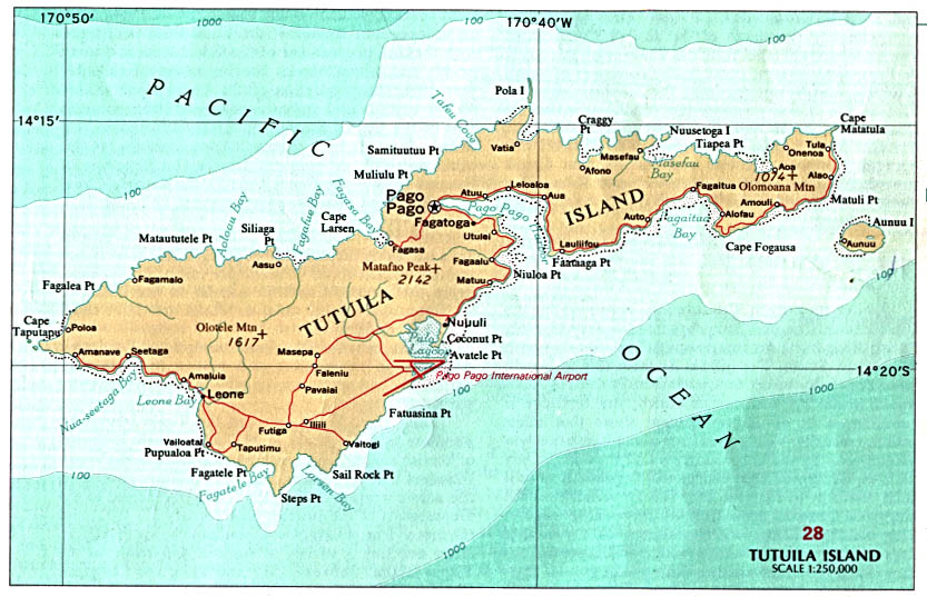 Download Free American Samoa Maps