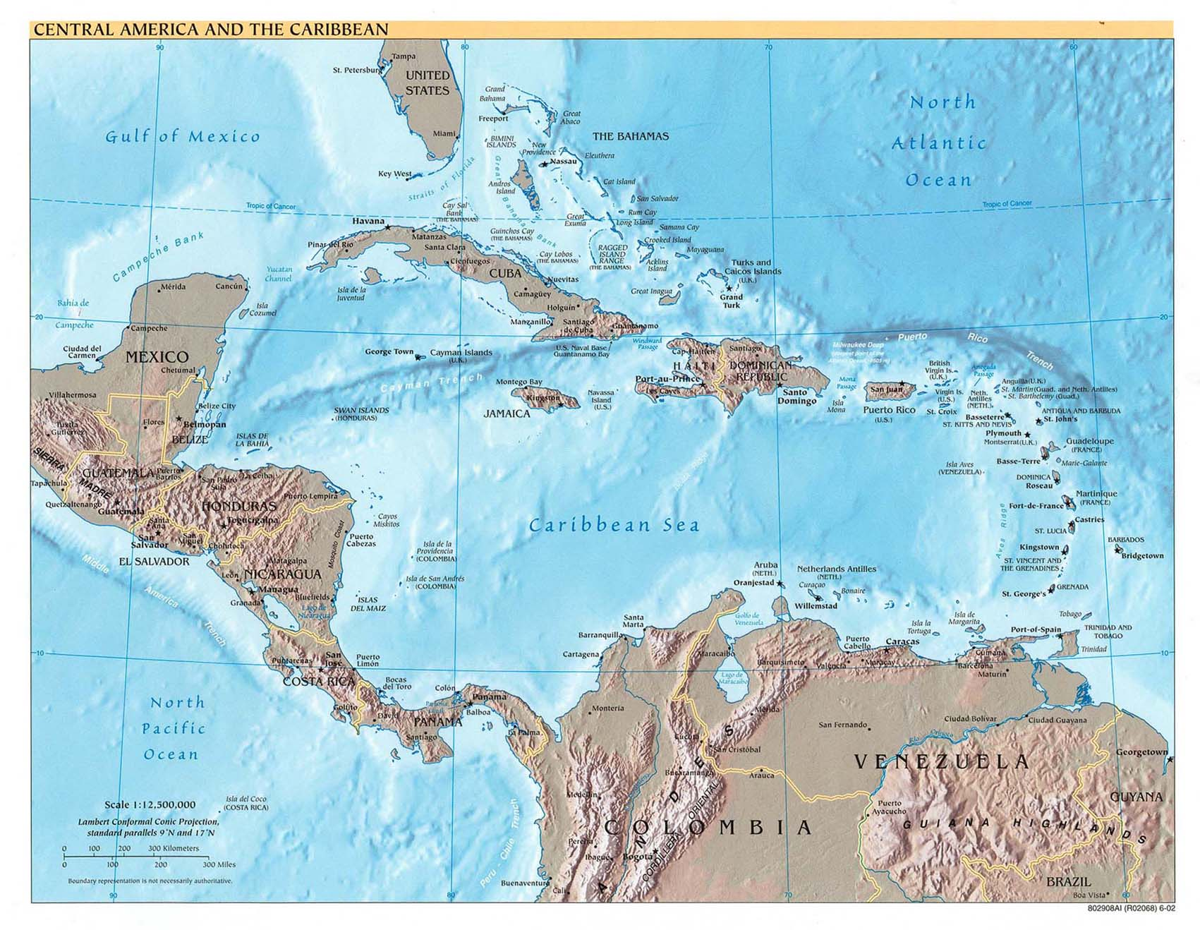 Free Download Americas Maps - Central america map blank pdf