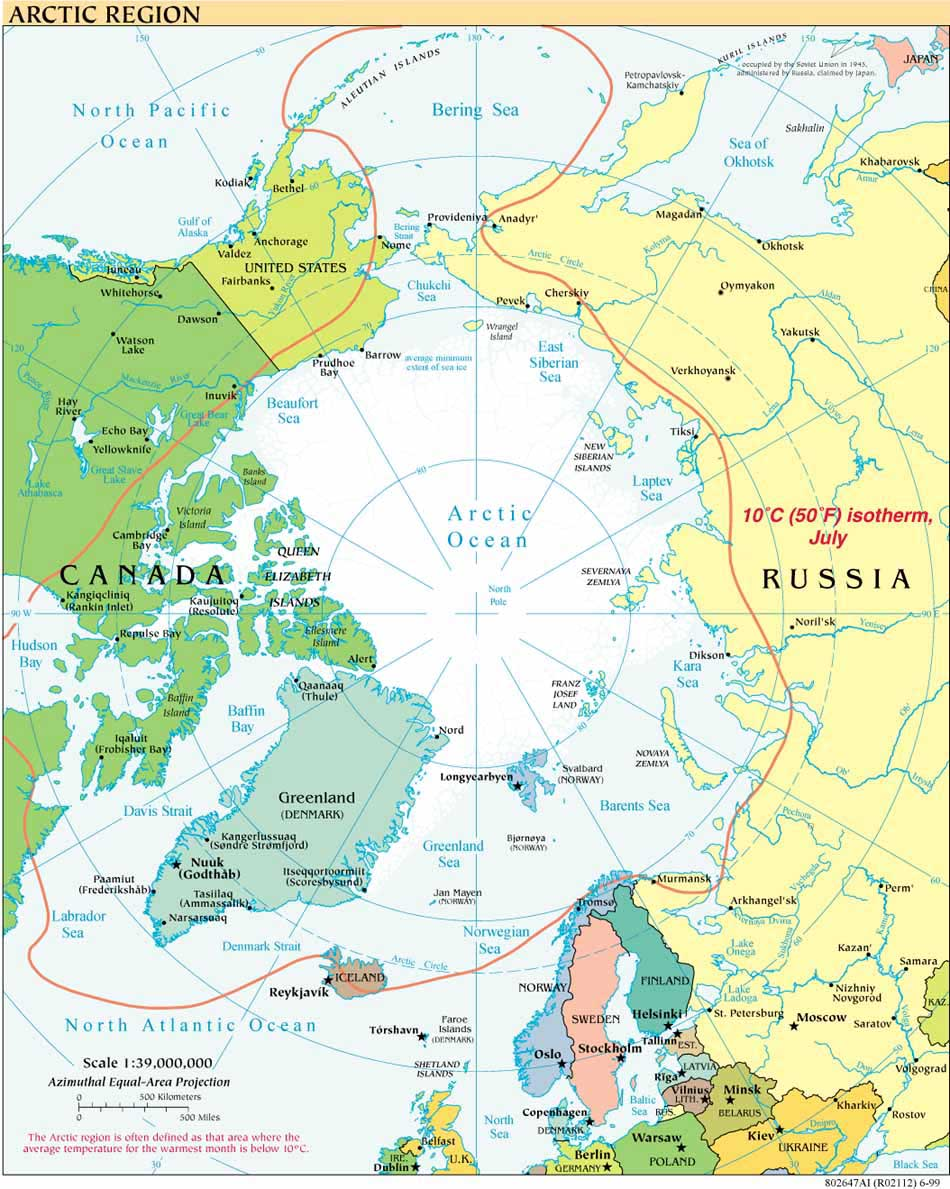 Free Download Arctic Maps - Norway map free download