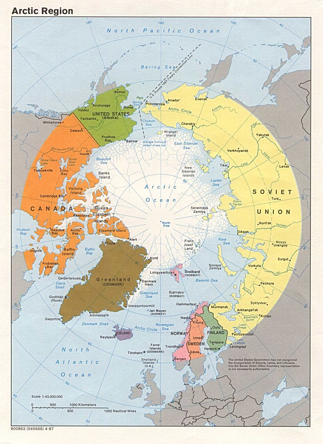 Free Download Arctic Maps
