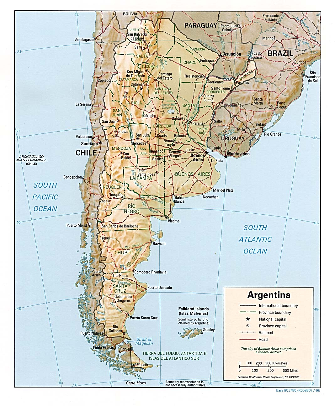 Free Download Argentina Maps - Argentina map download