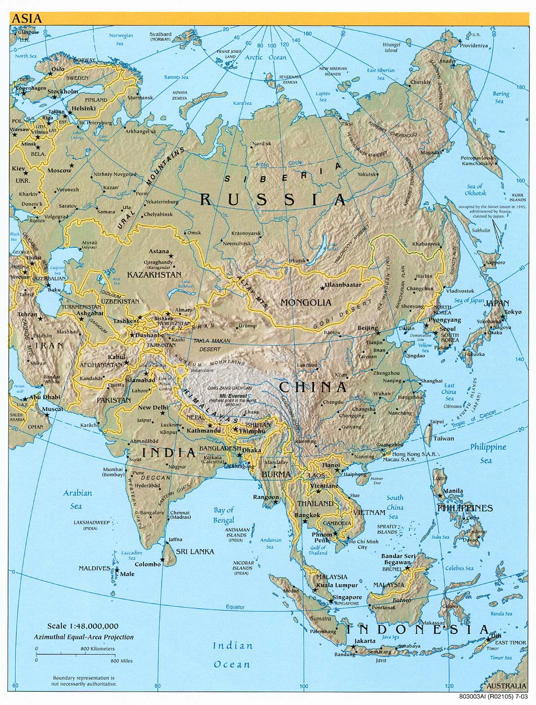 Download Map Of Asia.Free Download Asia Maps
