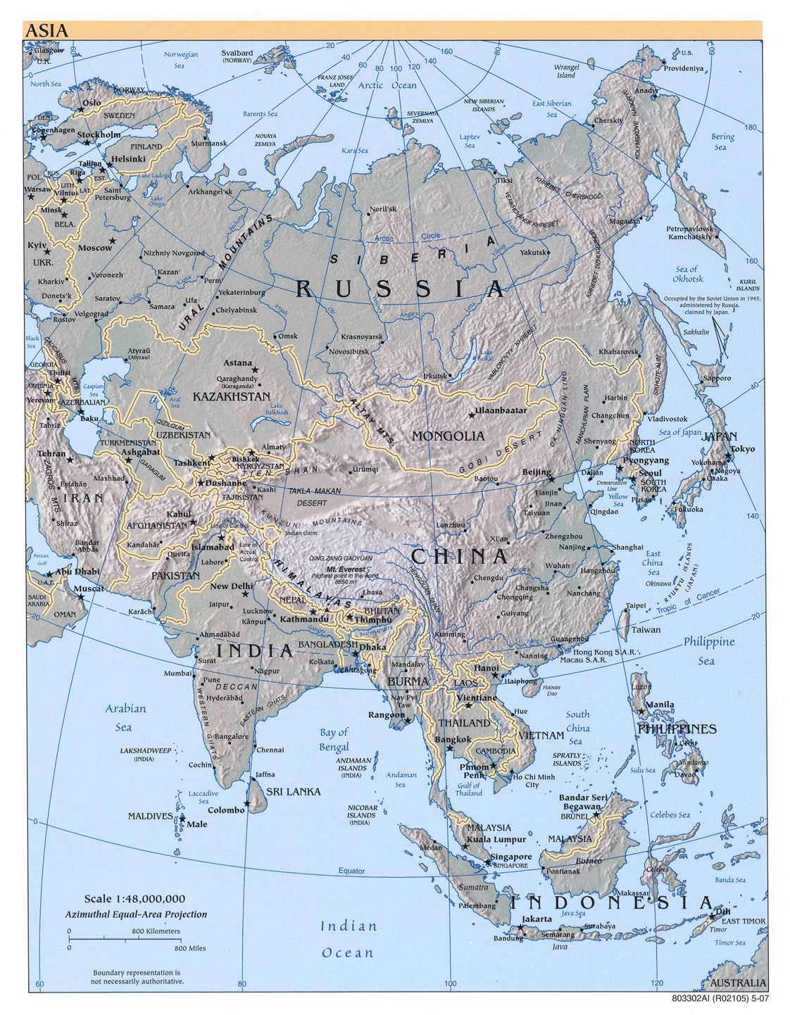 Picture Of Asia Map.Free Download Asia Maps