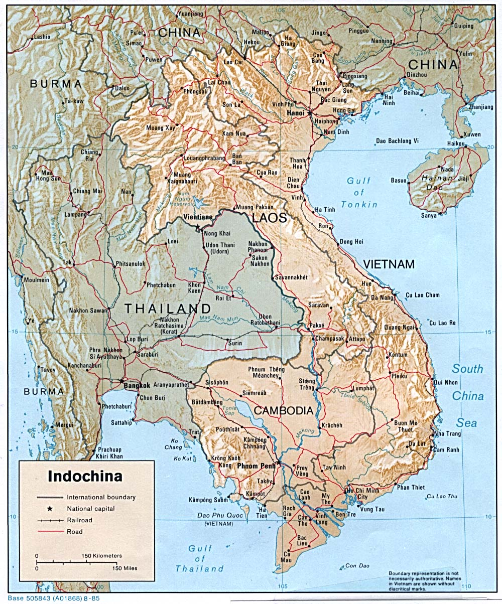 Free Download Asia Maps