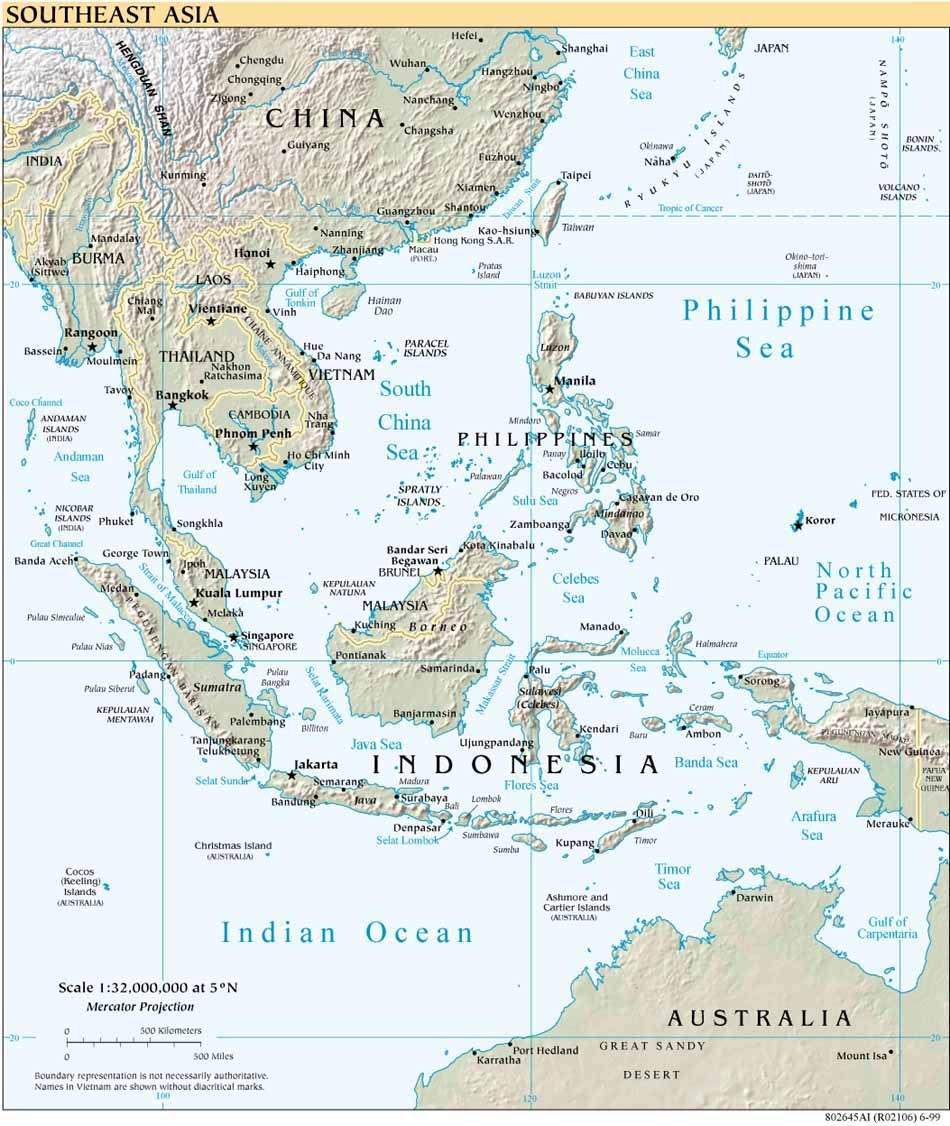 Free Download Asia Maps – Free Map of Asia