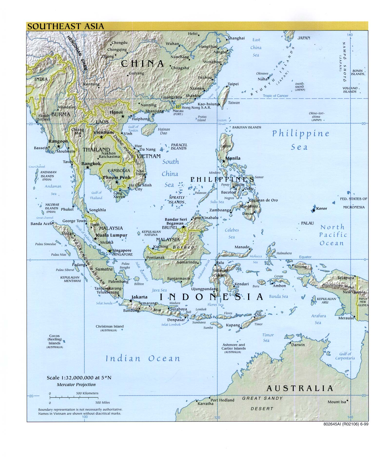Map Of Southeast Asia And South Pacific.Beaches Blank Map Of Southeast Asia And Australia
