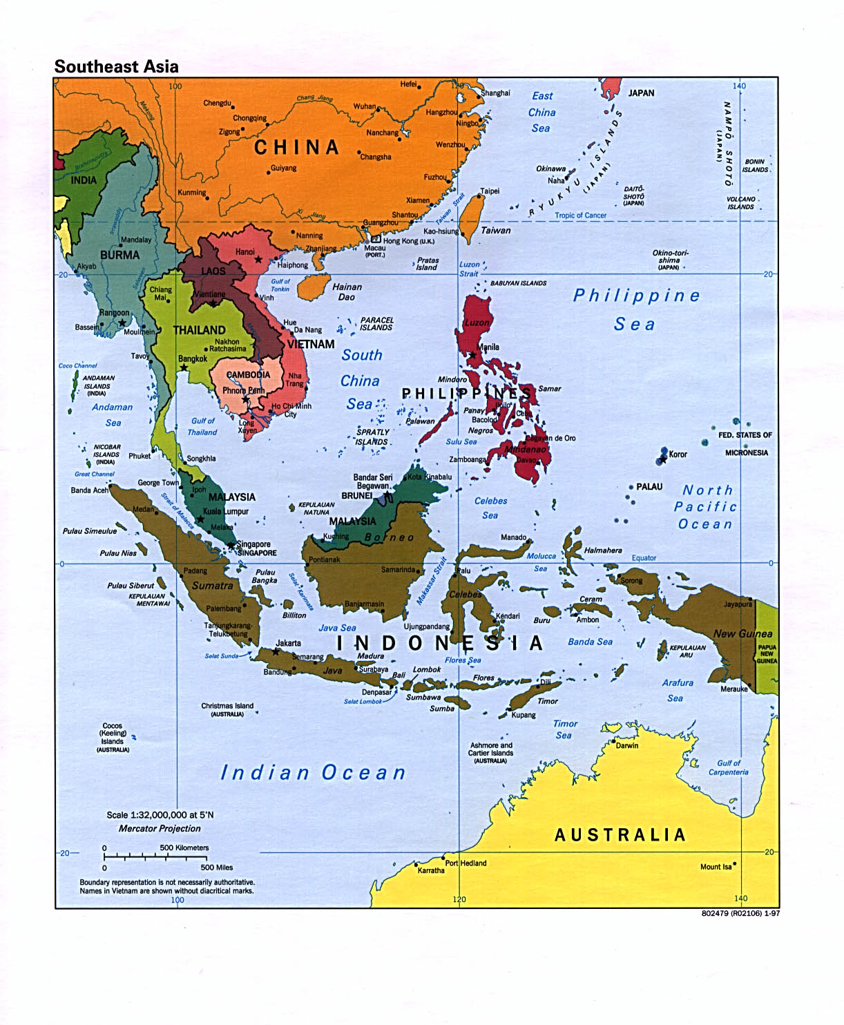 Detailed Map Of Asia.Free Download Asia Maps