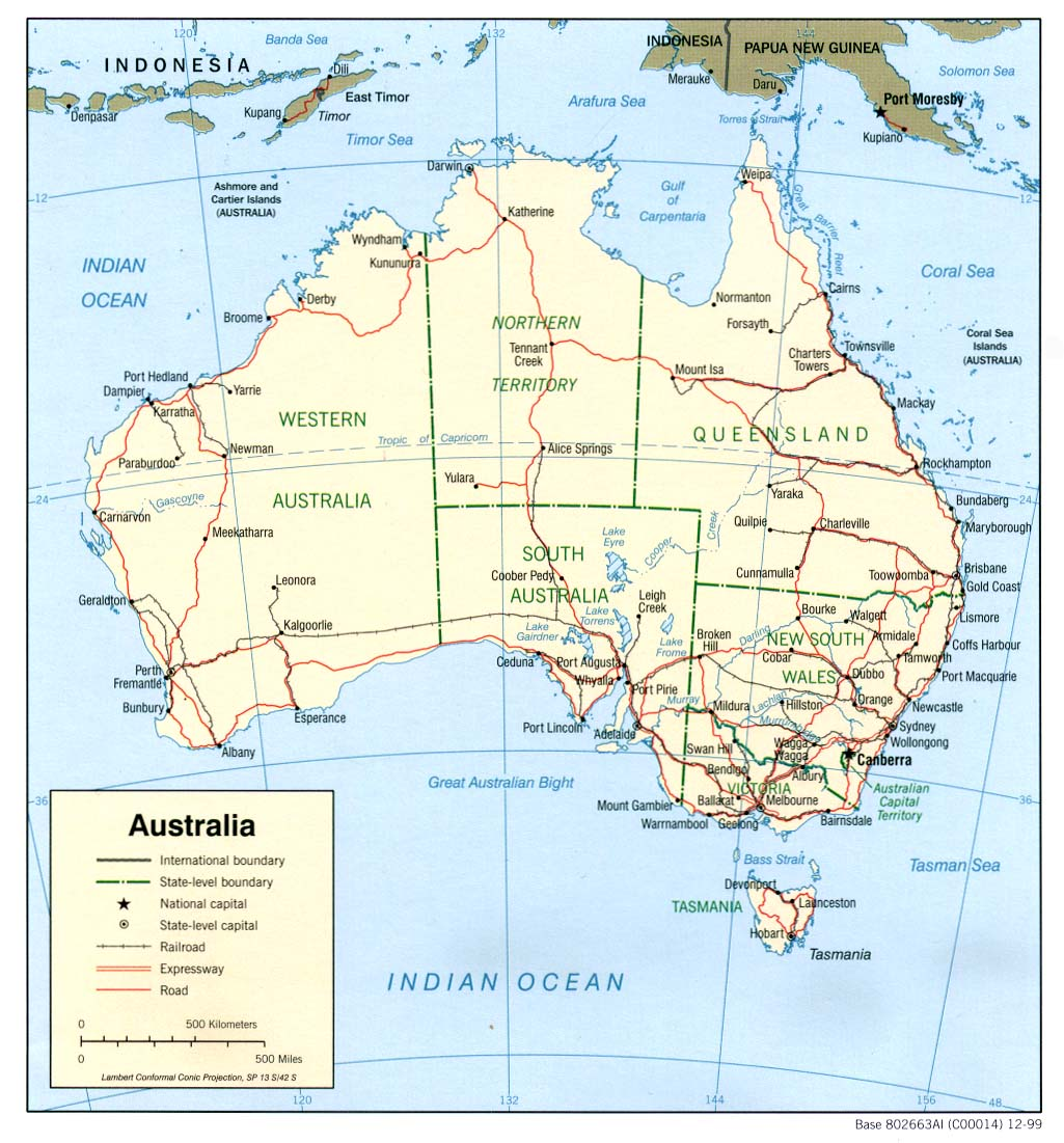 Download Map Of Australia.Free Download Australia Oceania Maps