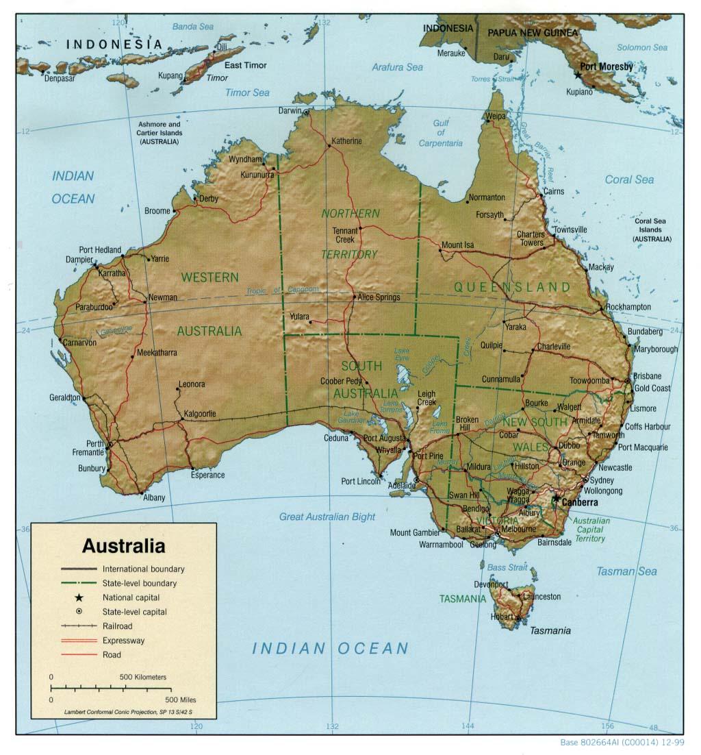 Map Of Australia Download.Free Download Australia Oceania Maps