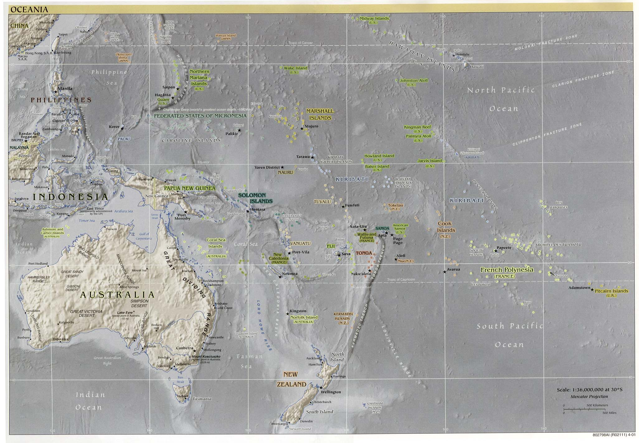 Free download australia oceania maps oceania reference sciox Image collections