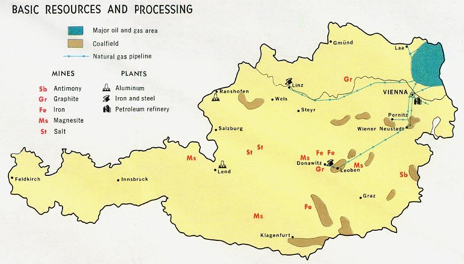 Free Download Austria Maps