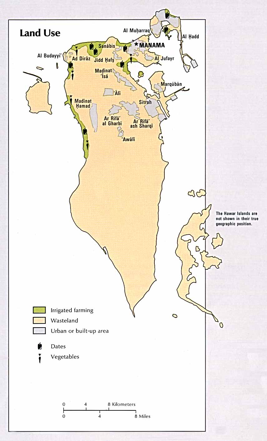 Free bahrain maps bahrain land use gumiabroncs Choice Image