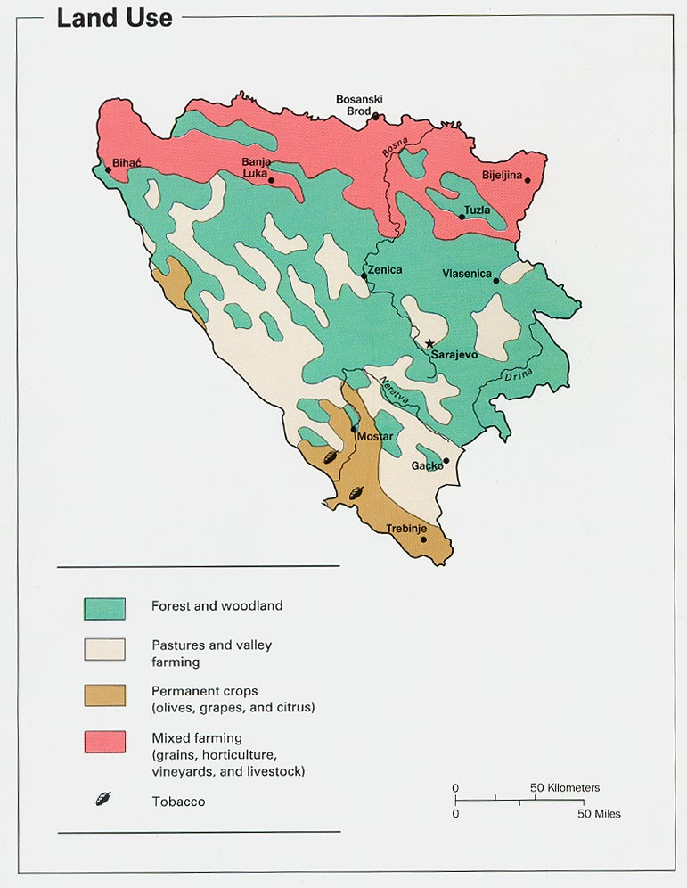 Poljoprivreda u BiH odumire zbog bahatog ponašanja političara Bosnia_herzegovina_land_1993