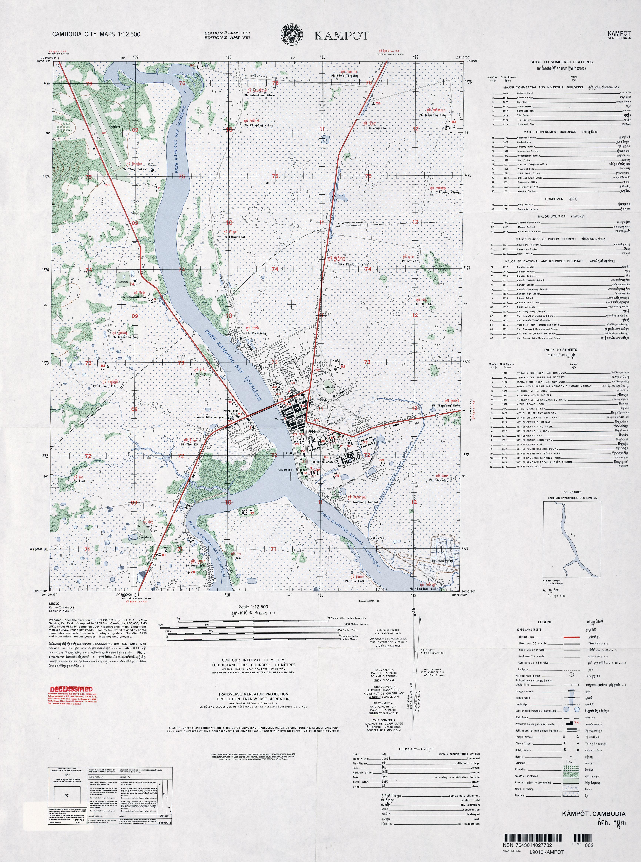 Free Cambodia Maps