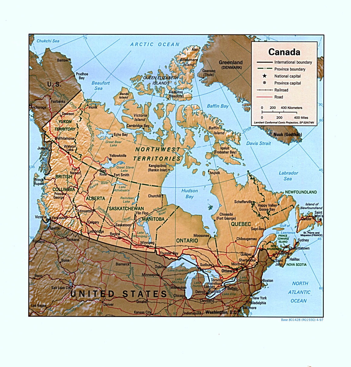 Map Of Canada Free.Free Canada Maps