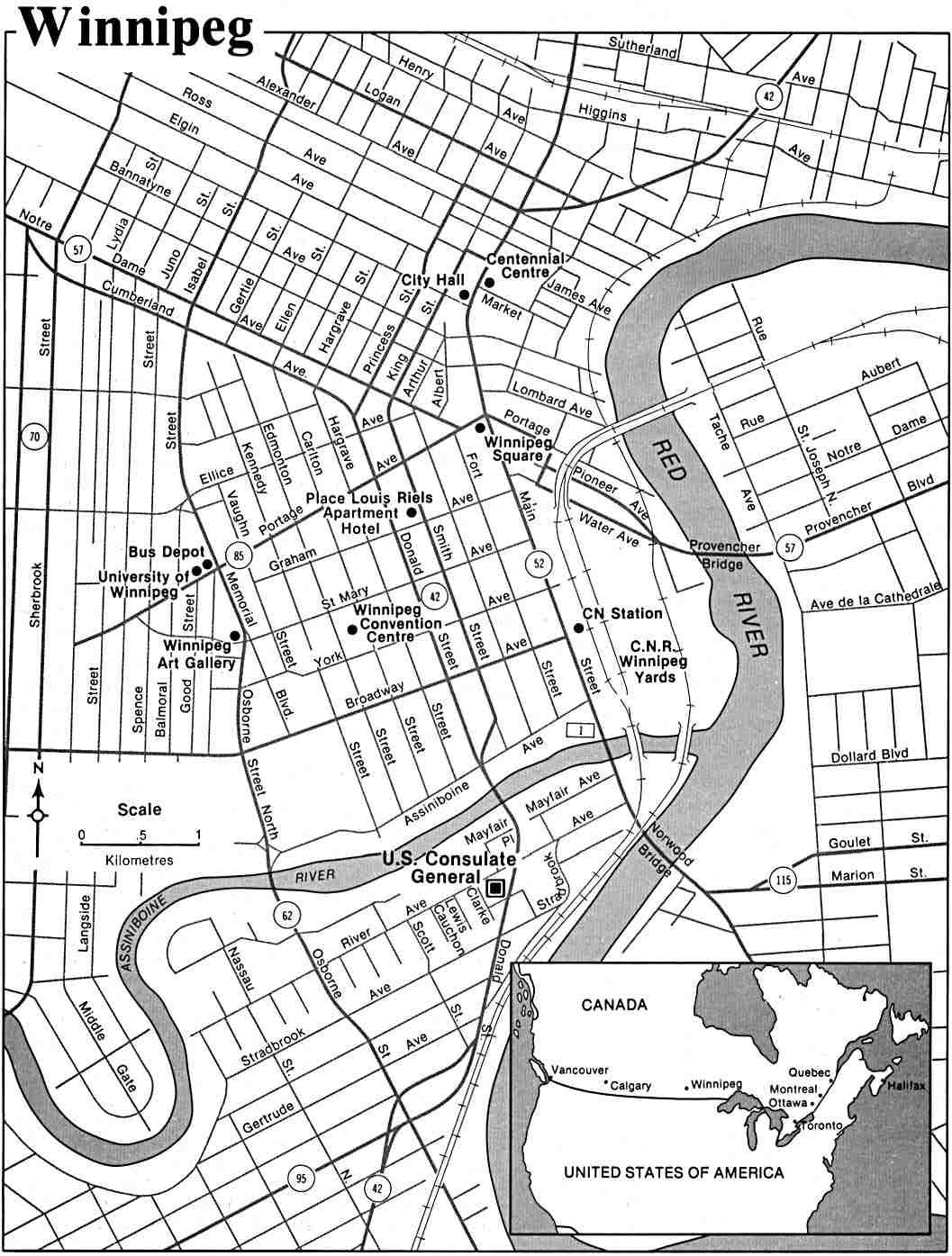 Winnipeg manitoba zip code map