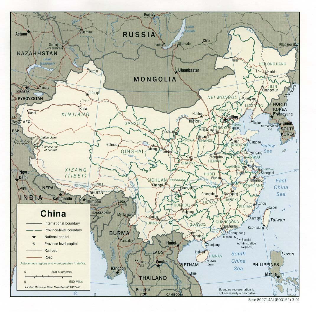 National Geographic Map Of China.Free China Maps