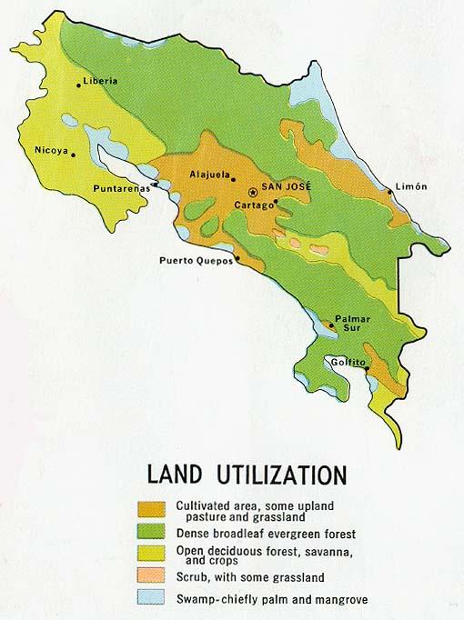 Natural Resources In San Jose Costa Rica