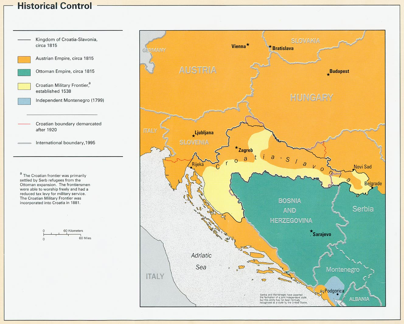 Free Croatia Maps - Croatia interactive map