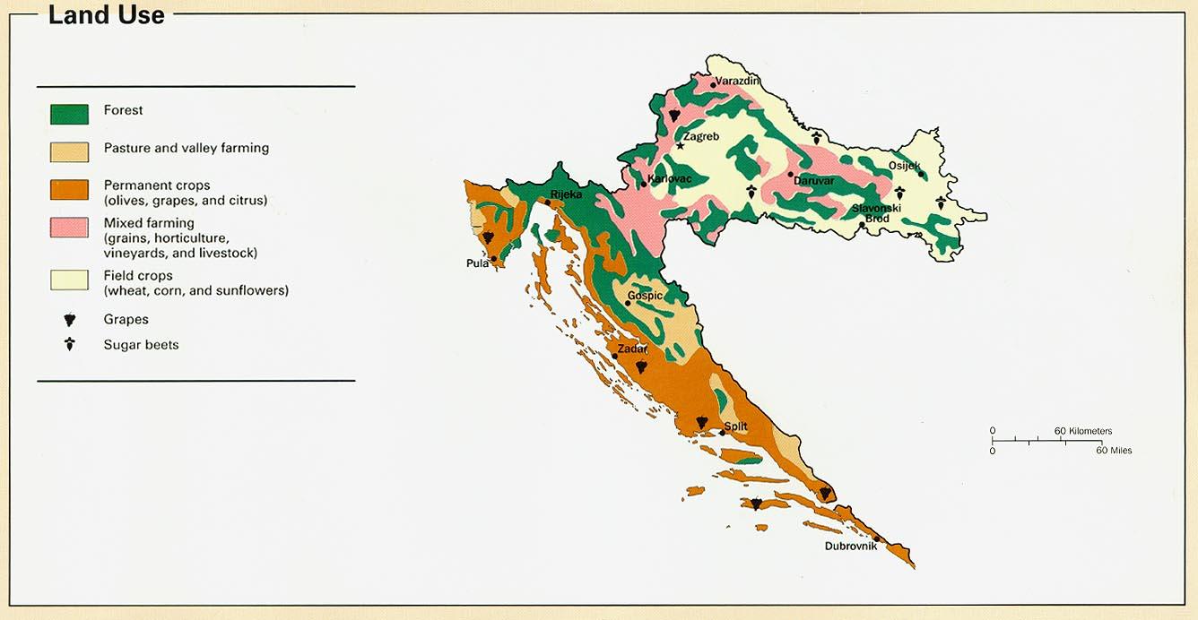 Zip code hrvatska