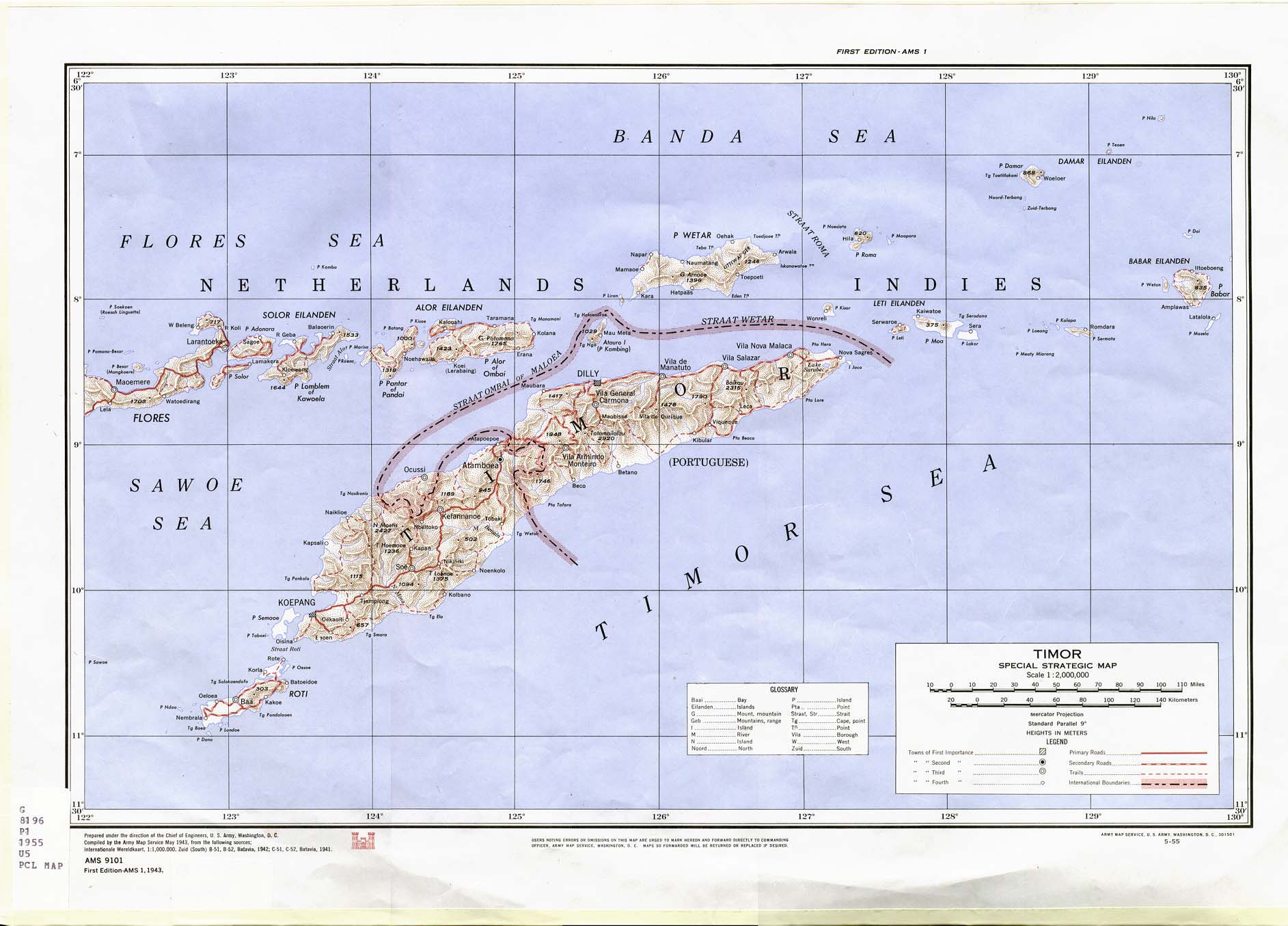 Free East Timor Maps