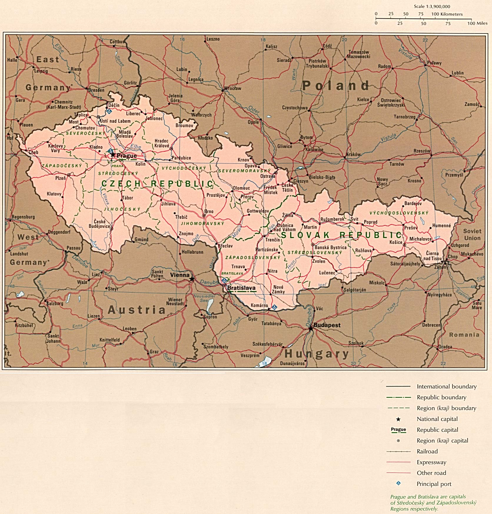 Free eastern europe maps country map 577k gumiabroncs Choice Image