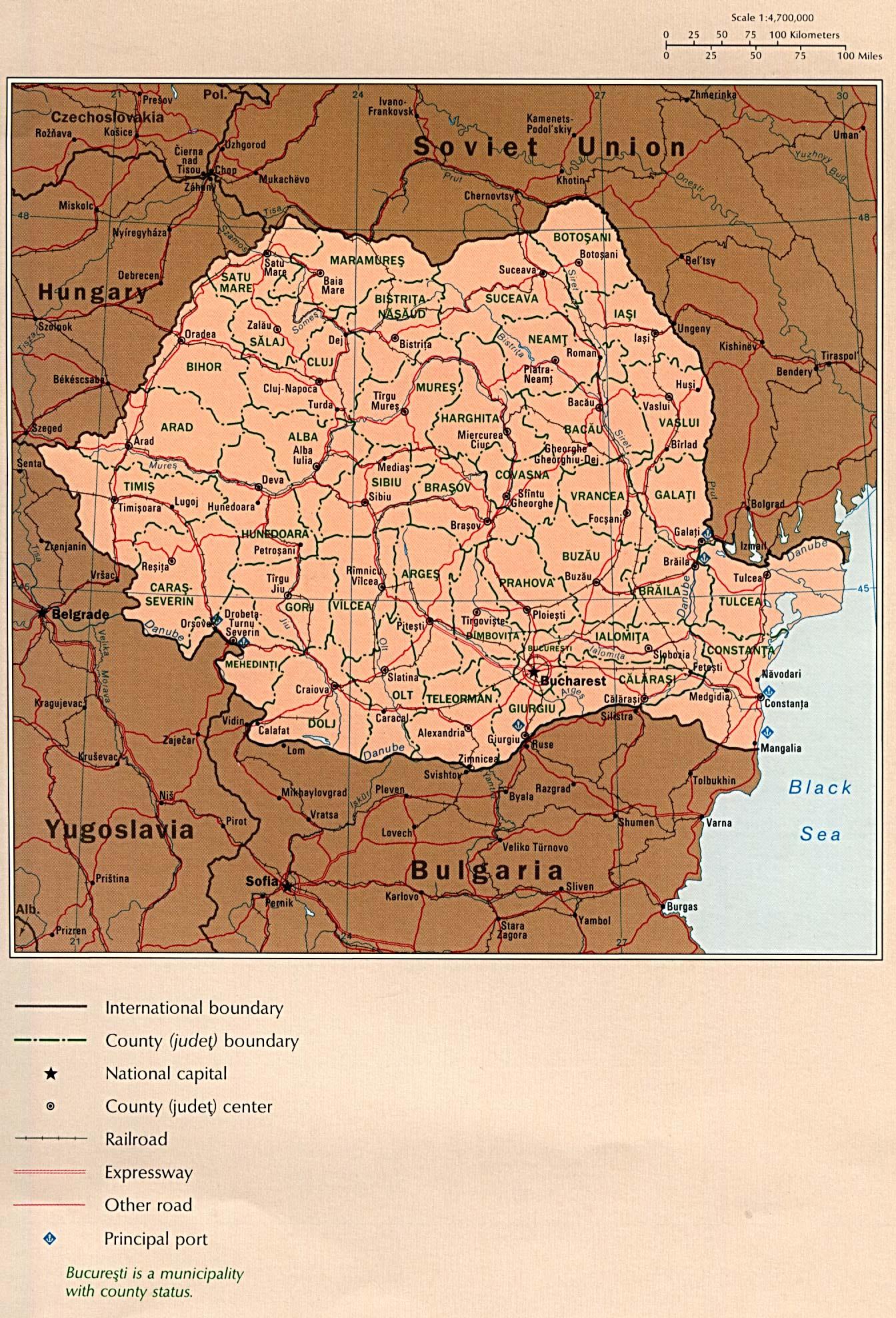 Free Eastern Europe Maps