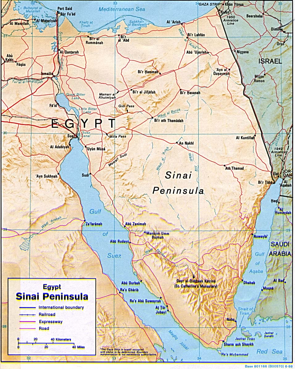 Free Egypt Maps - Map of egypt free download