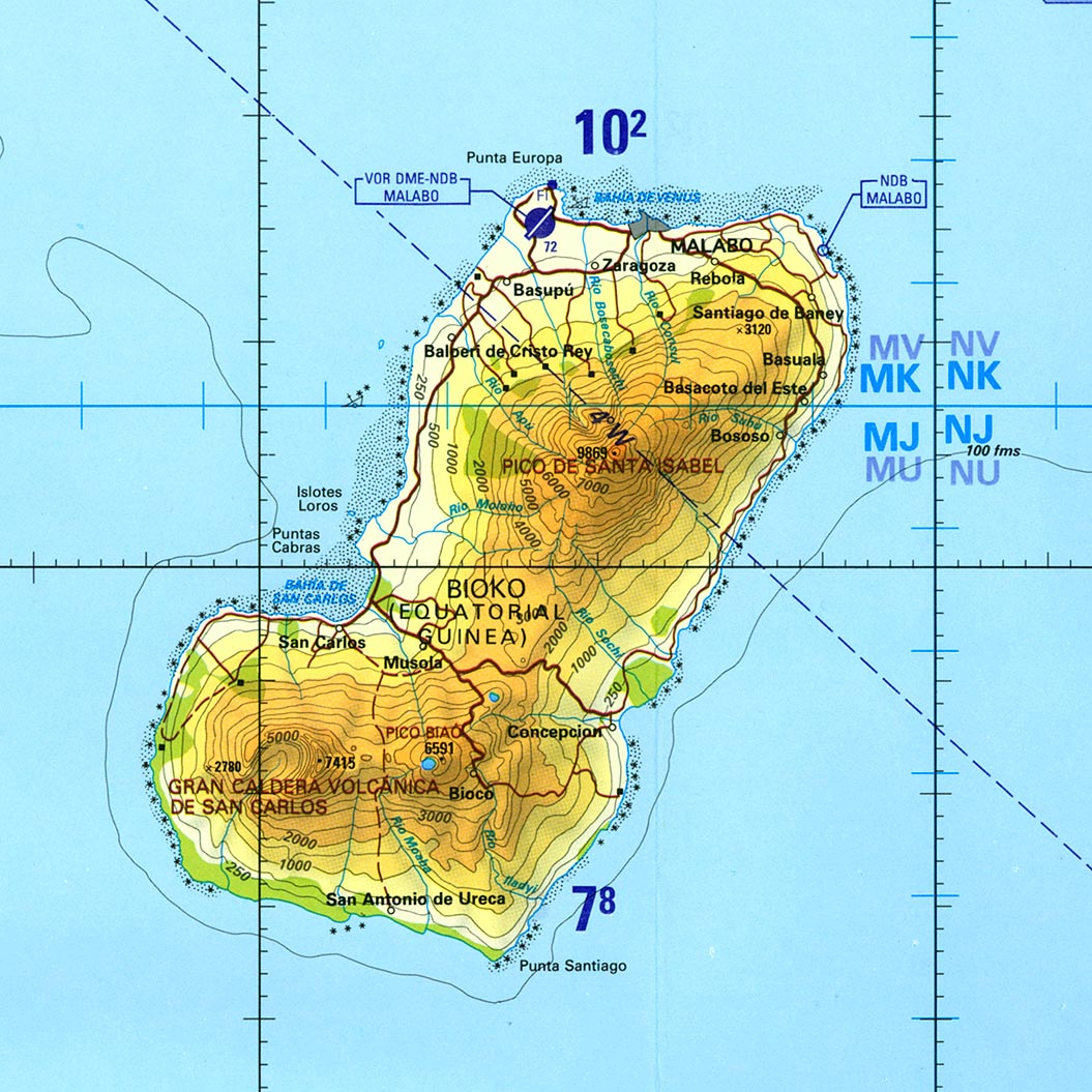 Free equatorial guinea maps bioko island tactical gumiabroncs Image collections