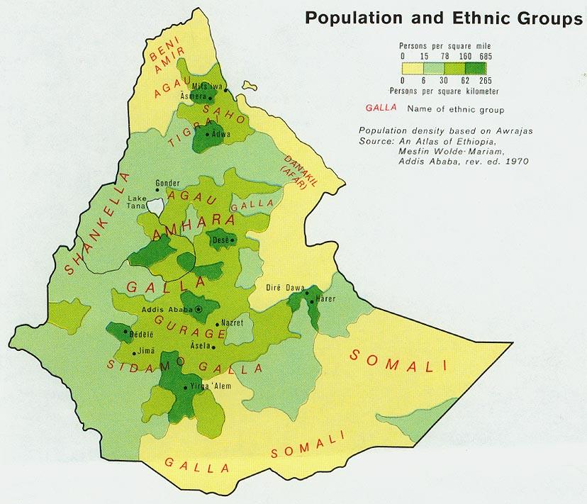 Free Ethiopia Maps