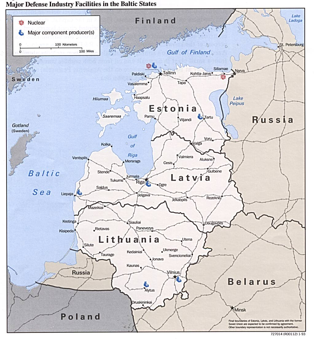 Free europe maps baltic states major defense industries gumiabroncs Choice Image