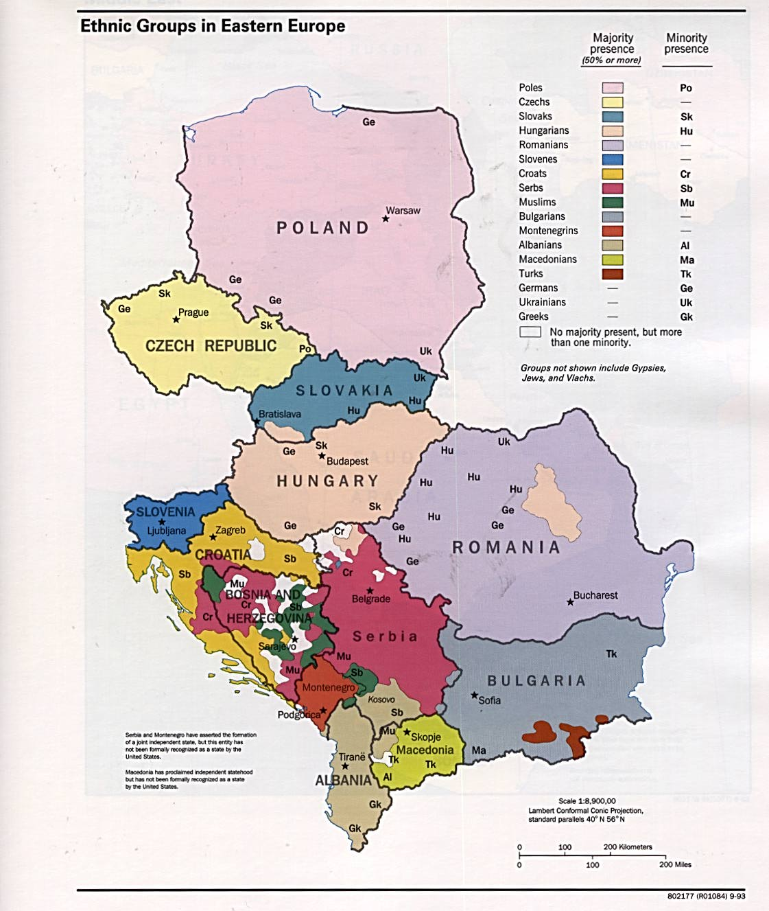 Free europe maps eastern europe ethnic groups gumiabroncs Gallery