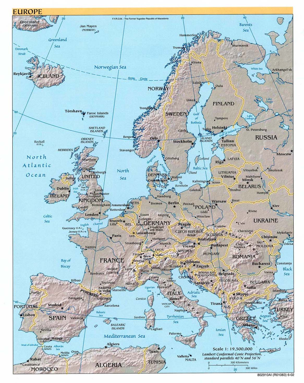Free europe maps gumiabroncs Images