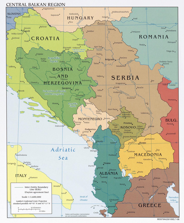 Free Europe Maps