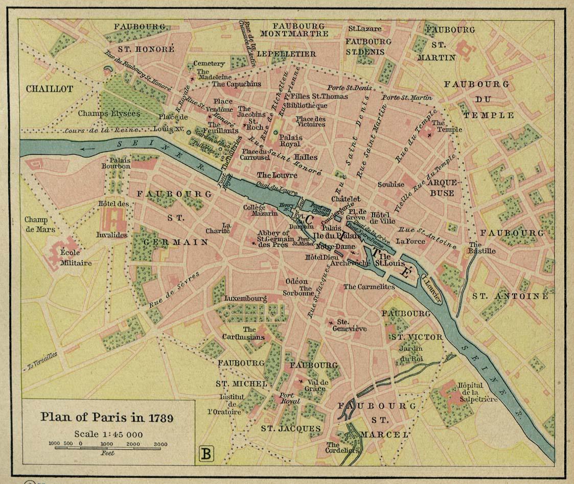 plans of paris 251k